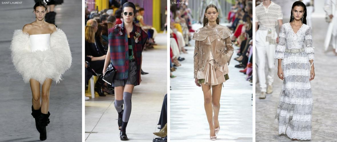 Tendencias Primavera/Verano 2018 Moda Mujer