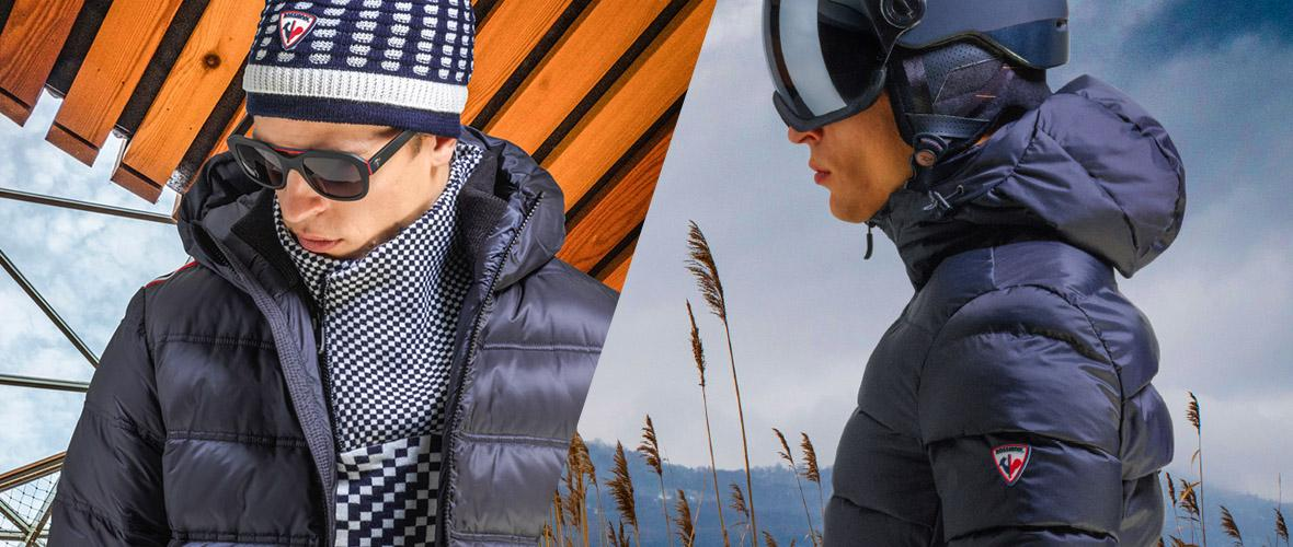 Rossignol F/W 2018-19: urban-inspired technical clothing