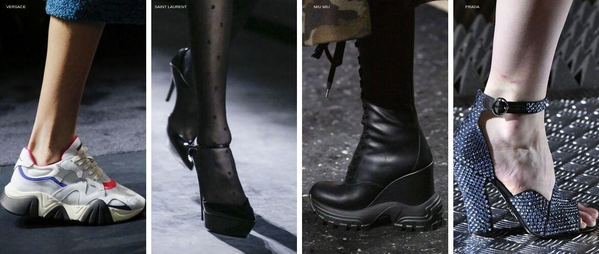 Модная обувь Осень/Зима 2019-2020
