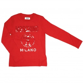 T-shirt Moschino Kid HQM008 E048L