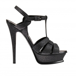 Heeled sandals Saint Laurent 457754 GIH00