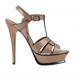 Heeled sandals Saint Laurent 447550 BZC00