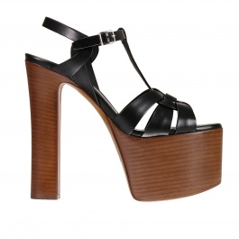 Heeled sandals Saint Laurent 461274 B2U00