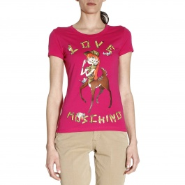 T-Shirt Moschino Love W4B193R E1698