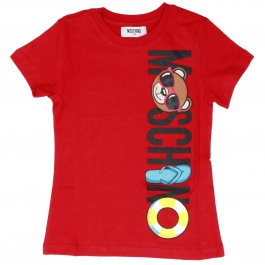 T-shirt Moschino Kid HWM01I LAA03