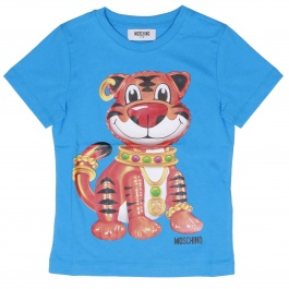 T-shirt Moschino Kid HOM00D LAA02