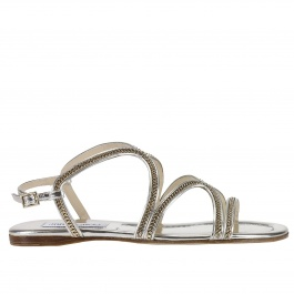 Flat sandals Jimmy Choo NICKEL FLAT MLE