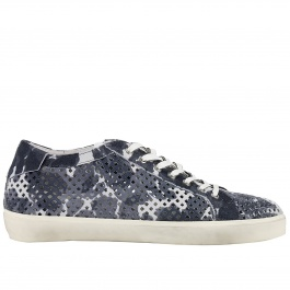Sneakers Leather Crown MLC36 ,