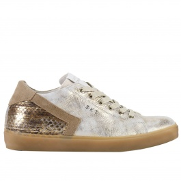 Sneakers Leather Crown WLC09