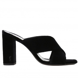 Heeled sandals Saint Laurent 492975 GVOVV