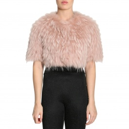 Fur coats Red Valentino