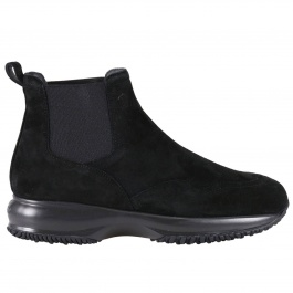 Bottines plates Hogan HXW00N0J090 CR0