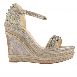 Wedge shoes Christian Louboutin 1180491