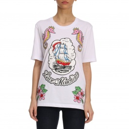 T-Shirt Moschino Love W4F1555 M3897