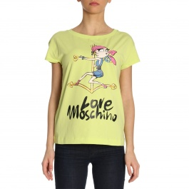 T-Shirt Moschino Love W4F3061 E1907
