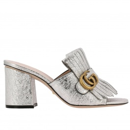 Heeled sandals Gucci 453495 DKT00