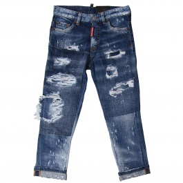 Джинсы DSQUARED2 JUNIOR DQ02MD D00R9
