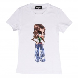 T-shirt Dsquared2 Junior DQ02Q0 D00MM