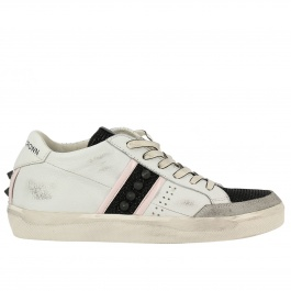 Sneakers Leather Crown WLC178