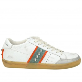 Sneakers Leather Crown MLC178