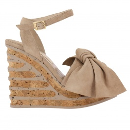 Wedge shoes Paloma Barcelò IRIS CAMOSCIO