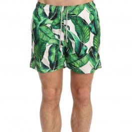 Swimsuit Mc2 Saint Barth GUSTAVIA BANANA LEAVES