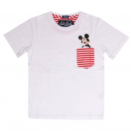 T-Shirt MC2 SAINT BARTH KEA D MICKEY POCKET LIN41