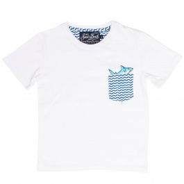 T-Shirt MC2 SAINT BARTH KEA 01 WAVE SHARK