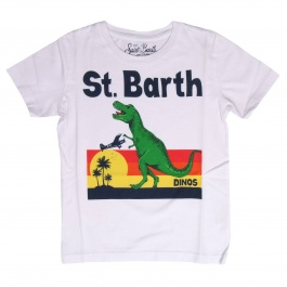 Футболка MC2 SAINT BARTH TSHIRT BOY ST BARTH DINOS 01