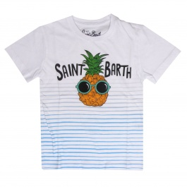 T恤 Mc2 Saint Barth TSHIRT BOY PINEAPPLE LINE 0131