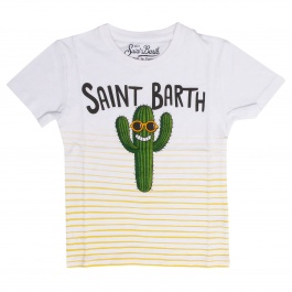 T恤 Mc2 Saint Barth TSHIRT BOY CACTUS SMILE 0191