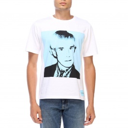 T-shirt Ckj Warhol Self-portrait