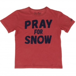 T-shirt Mc2 Saint Barth CAMERON PRAY SNOW 41