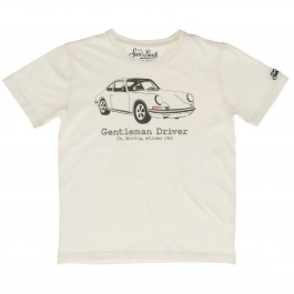 T-shirt Mc2 Saint Barth CAMERON ST. MORITZ CAR 01