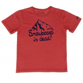 T-shirt Mc2 Saint Barth CAMERON DEAD SNOWBOARD 41
