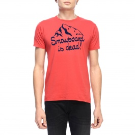 T-shirt Mc2 Saint Barth ARNOTT DEAD SNOWBOARD41