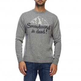 Sweater Mc2 Saint Barth HERON DEAD SNOWBOARD 15M