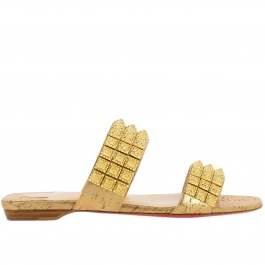 newest 0d744 4b061 Flat sandals Christian Louboutin