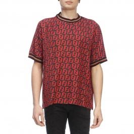 e0c6a04344f T-shirt homme Fendi boutique en ligne Printemps Été 2019 - Giglio.com
