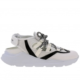 Sneakers Leather Crown WRNG_OPEN