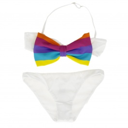 Swimsuit Mc2 Saint Barth MALICE RAINBOW STRIPE