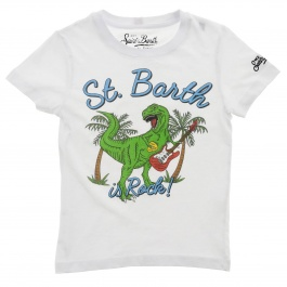 T-shirt Mc2 Saint Barth TSHIRT BOY DINOSAUR ROCK 01