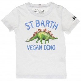T-shirt Mc2 Saint Barth TSHIRT BOY DINOSAUR VEG 01