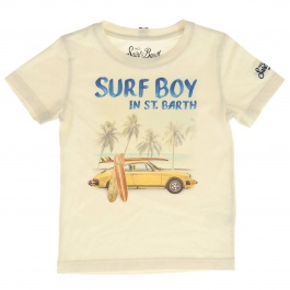 T-shirt Mc2 Saint Barth TSHIRT BOY SURF BOY 11