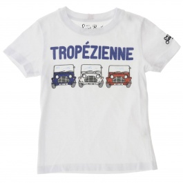 T-shirt Mc2 Saint Barth TSHIRT BOY TROPEZIENNE 01