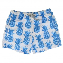 Swimsuit Mc2 Saint Barth JEAN MURAL PINEAPPLE 01
