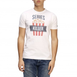 T-shirt Mc2 Saint Barth TSHIRT MAN SERIES KILLER 01