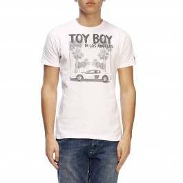 T-shirt Mc2 Saint Barth TSHIRT MAN TOY BOY 01
