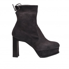 Heeled booties Stuart Weitzman shorty