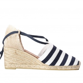 Wedge shoes Castaner campesina